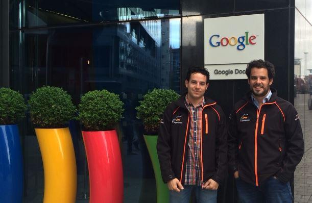 T-Ingeniamos invitada en Google