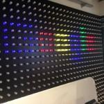 Muro iluminación curiosa Google