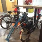 O sillas bici para moverte mientras comes…