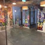 Esta planta la decoración del rellano es Urban Street 90′s total